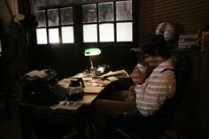 Lush Town Ep.1 detectives office by Lisette Lawrie, via Flickr, office reference