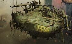 The Last Airborne (detail) by ian_mcque