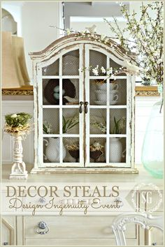 DECOR STEALS DESIGN INGENUITY EVENT… SPRING CUPBOARD
