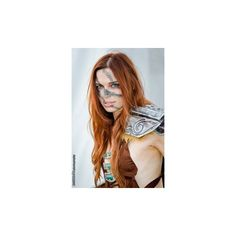 Beautiful Aela The Huntress From Skyrim [Cosplay] ❤ liked on Polyvore