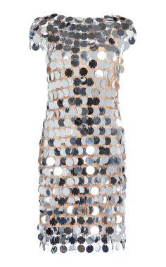 Paillettes Mini Dress by PACO RABANNE