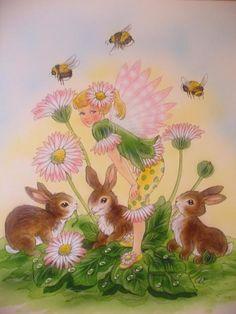 Christl Vogl flower fairy #5