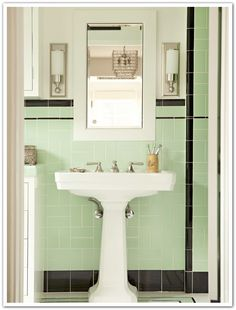 Awesome Beautiful Art Deco Bathroom Tiles Uk. Bathroom Vanity Designs  Pictures Part 66