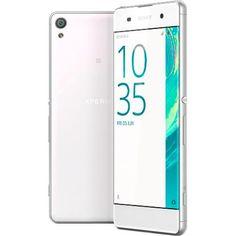 """Foto 1 - Smartphone Sony Xperia XA Dual Chip Android Tela 5"""" 16GB 4G Câmera 13MP - Branco"""