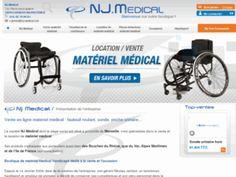 Matériel médical accessible avec NJ-médical