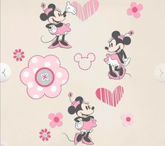 Minnie Mouse Wall Decals, $30