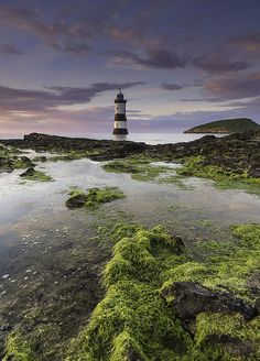 Penmon, Anglesey 'Coastal Light' of Black Point ~ Wales Places To Travel, Places To See, Anglesey Wales, Swansea Bay, Lighthouse Art, Snowdonia, Le Far West, Beautiful World, Simply Beautiful