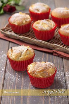 Muffin alle mele senza burro ricetta | Ho Voglia di Dolce