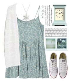 """Sky"" by raquel-t-k-m ❤ liked on Polyvore featuring Polaroid, Converse, Violeta by Mango, Bling Jewelry and Newgate"