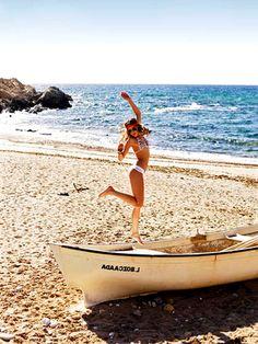 Finding an empty beach :-)