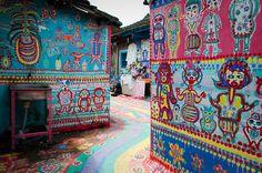 Taichung Rainbow Village, Taichung Taiwan