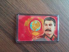 Magnets Fridge Ussr Soviet Leader Stalin political state military Souvenir gift