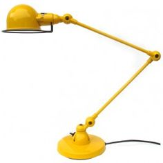 yellow lamp Desk Lamp, Table Lamp, House Doctor, Room Colors, My Favorite Color, Outdoor Power Equipment, Yellow, Orange, Interior