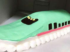 新幹線☆はやぶさケーキの画像
