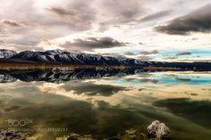 MONO LAKE Reflection by inchrist