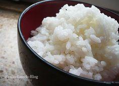 Reis kochen in der Mikrowelle