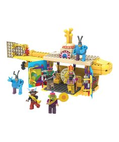 Beatles Yellow Submarine Building Set | Daily deals for moms, babies and kids