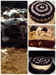 Banoffee brownies cake