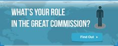 What is your role in the Great Commission? Find out today. Re-pin if you support Gospel for Asia!