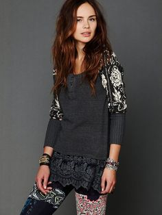 Free People Cozy Time Tunic at Free People Clothing Boutique