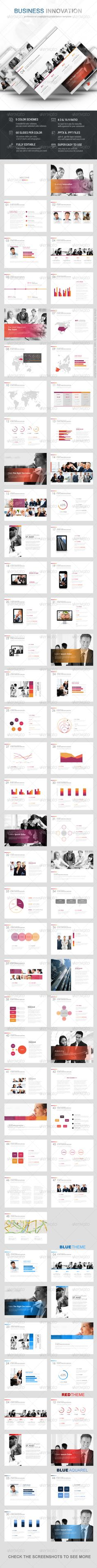 1x1.trans Business Innovation Powerpoint Template (Powerpoint Templates)