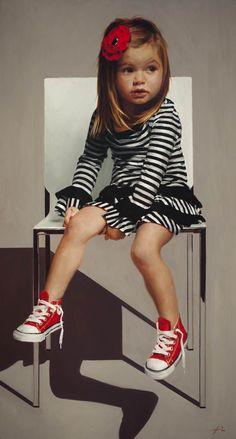 jefferi hein, kids fashion, futur children, paint, artist, ador, fashion kid, red shoe, jeff hein