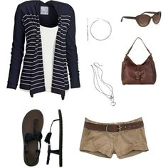 I Think This Would Be Really Cute With Brown Tan Pants As Well Summer