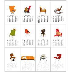 dogsonfurniture calendar