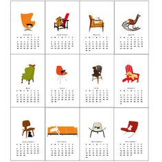 dogsonfurniture calendar