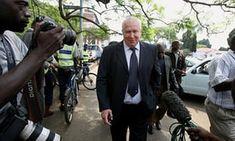 Roy Bennett on 9 November 2009 in Harare, Zimbabwe.