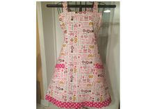 Minnie Mouse Inspired this Full Bib Apron by SpicyAprons on Etsy