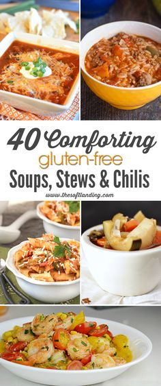We're ready to break out our favorite gluten-free soups, stews and chilis for cool weather and you get to benefit from our Fall planning! via @thesoftlanding