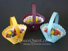 Circle Framelits Easter Baskets