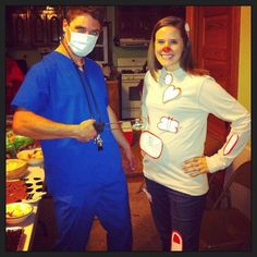 pregnancy halloween costume announcement couples costume halloween costumes baby pregnant operation - Pregnant Halloween Couples Costumes