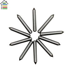 10pc/set 3*20mm Carbide Engraver Engraving Tips Nozzle Drill Bit For Electric Carving Pen Metal Wood PVC Plastic Glass Leather #Affiliate