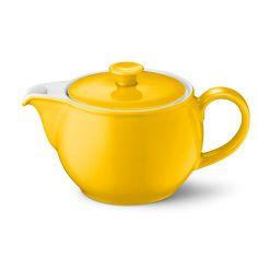 Dibbern Teekanne Solid Color 1,10L, sonnengelb. #artvoll #Colors #Yellow #Gelb #AllesIn www.artvoll.de