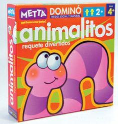Dominó Animalitos ¡Diversión y aprendizaje garantizados! #juegosmetta