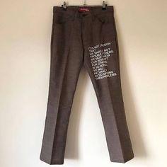 b663d7df Junya Watanabe Levi's Poem Pants Tweed Plaid Version Size US 32 / EU 48 - 1