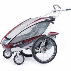 Thule Chariot CX is the elite performer in comfort, style and technology for the most active family.