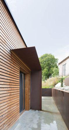 Außenansicht, Holzleisten, Wohnhaus In Stallwang