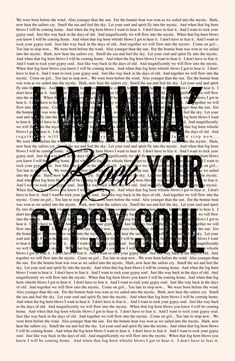 The book of soul lyrics