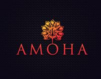 created Visual Identity for Amoha an Online Indian ethnic clothing brand specialized in hand crafted ethnic wears. Visual Identity, Corporate Design
