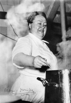 "Eugénie Brazier, the queen and mother of modern french cooking.The first chef awarded six Michelin stars. Leading chefs including Paul Bocuse have trained with her. Brazier was feared for her ferocious temper and respected for her exacting standards. ""her chicken supplier quipped that he would have to give his cockerels a manicure before bringing them up to her."""