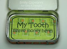 tooth fairy box paper-crafts