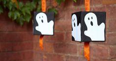 Tissue box Halloween piñata