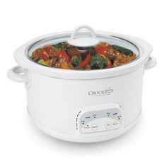 I need to get another crock-pot after my roommate cooked Chili 10 years ago, which she left out for 6 months until I smelled death and so naturally stuck it on the back porch during a blizzard, never to be seen again.
