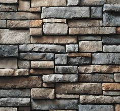 How about drystack ledgestone instead of pisa II wall stone?  Also see: http://thebrickyard.com/product/drystack-ledgestone/cultured-stone-drystack-ledgestone-suede-stone-veneer/