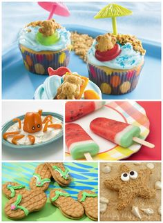 Kid-friendly beach and summer inspired recipes that would be perfect for summer entertaining! (via @onestylishparty)