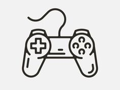 Controller designed by Timo Meyer. Connect with them on Dribbble; Cute Little Drawings, Mini Drawings, Doodle Drawings, Easy Drawings, Doodle Art, Gamer Tattoos, Applis Photo, Tattoo Flash Art, Simple Doodles