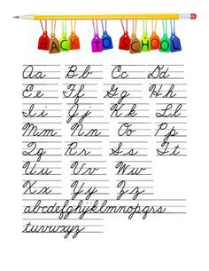 Learn Cursive Writing. Have a look at this Cursive Handwriting post http://tpt-fonts4teachers.blogspot.co.il/
